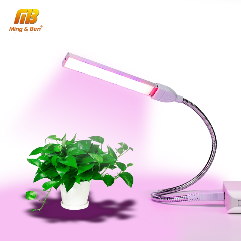USB LED Plant Light Full Spectrum 3W 5W DC 5V Flexible Grow Lights Phyto Lamp For Garden House Flower Hydroponic IR UV Growing