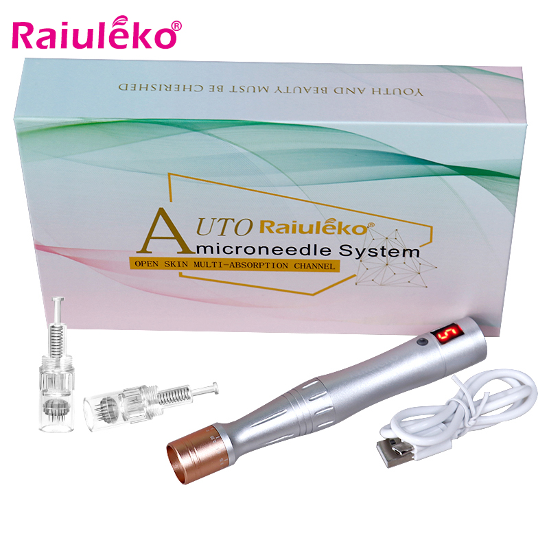 Ultima Electric Derma Tools Auto Micro Needling Pen Best Quality Micro Rolling MYM Stamp Therapy Exfoliate Shrink Pores Device