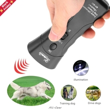 Repeller-Flashlight Animal-Attacks Stop Chaser Ultrasonic Dog New Free-Delivery Aggressive