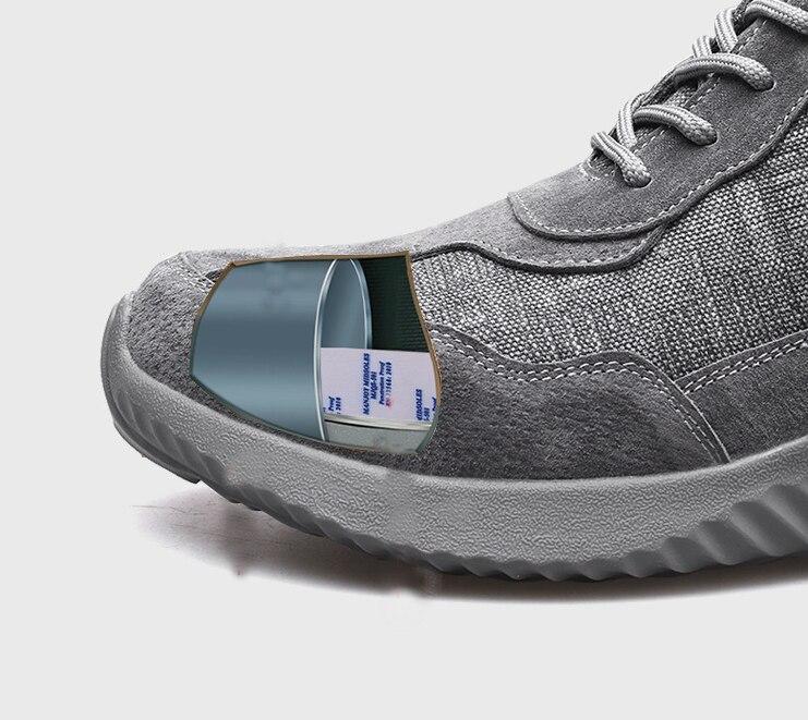 36-46 ユニセックス高と低仕事ブーツファッションノンスリップ摩耗建設作業安全靴不滅デザイナースニーカー