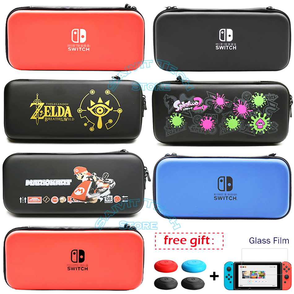 For Nintend Switch Accessories Travel Case Cover Storage Carrying Bag EVA Protective Hard Shell for Nintendo Switch Game