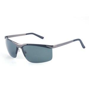 Image 5 - Мужские большие солнцезащитные очки Vazrobe, поляризационные очки без оправы с широкой оправой, 165 мм, для вождения, спорта