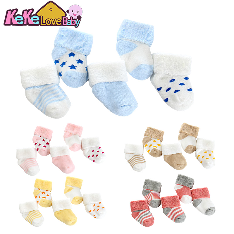5 Pairs/lot Newborn Baby Socks For Baby Girl Winter Cotton Thicken Warm Comfort New Born Baby Boy Toddler Socks Meia Infantil