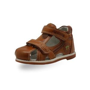 Image 4 - Chất Lượng Hàng Đầu Năm 2019 Trẻ Em Giày Sandal Da PU Trẻ Em Thoáng Khí Bãi Tập Đi Sandal Bé Trai Mùa Hè Sandal Hỗ Trợ Vòm