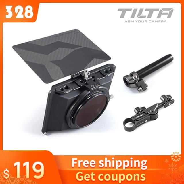 Tiltaing Mini caja mate para cámaras DSLR estilo sin espejo, parasol Tilta, accesorios, mattebox