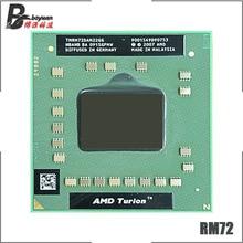 AMD Turion 64X2 Мобильная технология RM-72 RM 72 RM72 2,1 ГГц двухъядерный двухпотоковый процессор TMRM72DAM22GG разъем S1