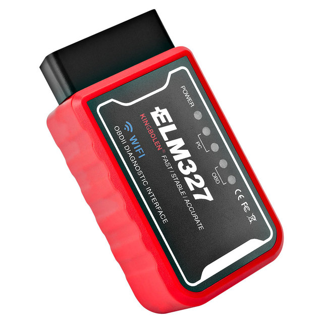ELM327 OBDII Engine Check Code Reader For Jaguar XF XE X250 F-PACE F-TYPE S-Type X-Type Wifi /Bluetooth OBD2 Scanner Detector 4