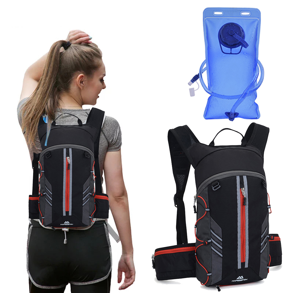 Trail Running Backpack 10L Bicycle Bag Cycling Marathon Run Rucksack Hydration Women Water Bag Sport Bottle Bike Back Vest Pack