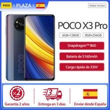 """POCO X3 Pro Comprar Global versión World estreno en Stock NFC Snapdragon 860 Smartphone 6,67 """"120Hz DotDisplay 5160 mAh 33w de carga"""