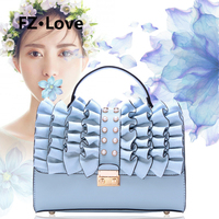Pearl Flowers Shoulder Bag for Women Ladies Tote Top Handles Crossbody Bags PU Leather Flap Purses and Handbags Lady Party