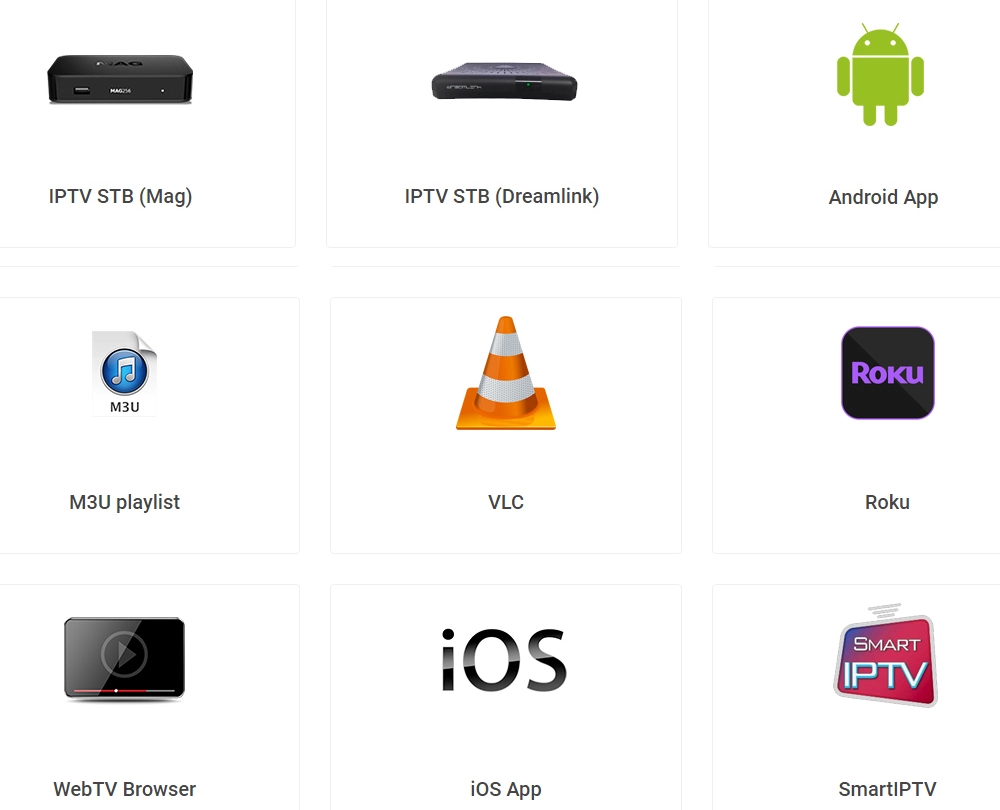 IPTV code M3U subscription supports Android box smart TV Mag box IPTV code in Europe Germany UK Canada USA Spain Germany Dutch 2