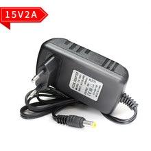 Adaptateur ca 220V à cc 15 V 2A, Source d'alimentation de commutation 15 V 1000MA