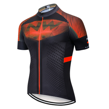 2020 NW Pro team Summer Jerseys Bike Shirt Men's Cycling Jersey Ciclismo Bicicleta Sportswear Maillot Ciclismo Breathable - Pic Color, XL