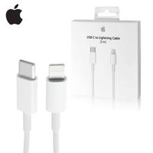 Оригинальный яркий USB-кабель для быстрой зарядки iPhone, ipad, длина 2 м, 1 м, мощность 18 Вт