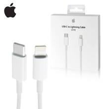 Alpple original 2m 1m USB-C para relâmpago cabo 18w USB-C de potência relâmpago rápido carregador usb cabo para iphone ipad