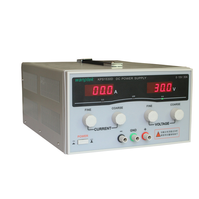 KPS1530D High precision Adjustable LED Dual Display Switching DC power supply 220V 15V/30A KPS High Power Adjustable