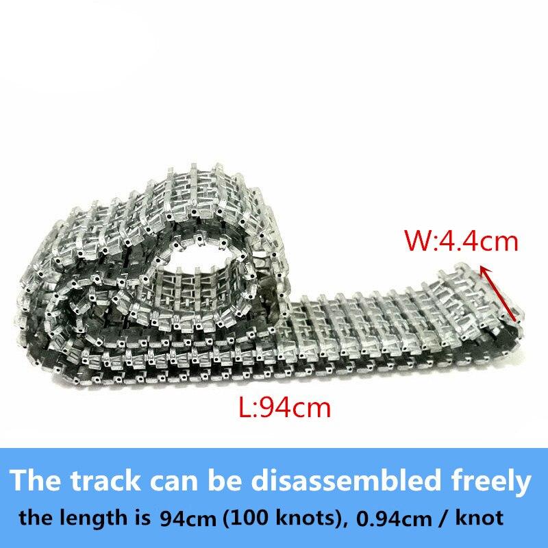 Metal Tracks Caterpillar Crawler Chain 61cm for 3818/3818-1 RC Tank Parts Heng Long 1/16 Tiger I Tank Car Chassis