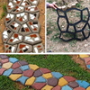 Reusable DIY Manually Pavement Mold For Garden Cement Brick Stone Road Path Maker Gardening Concrete Molds For Country House discount