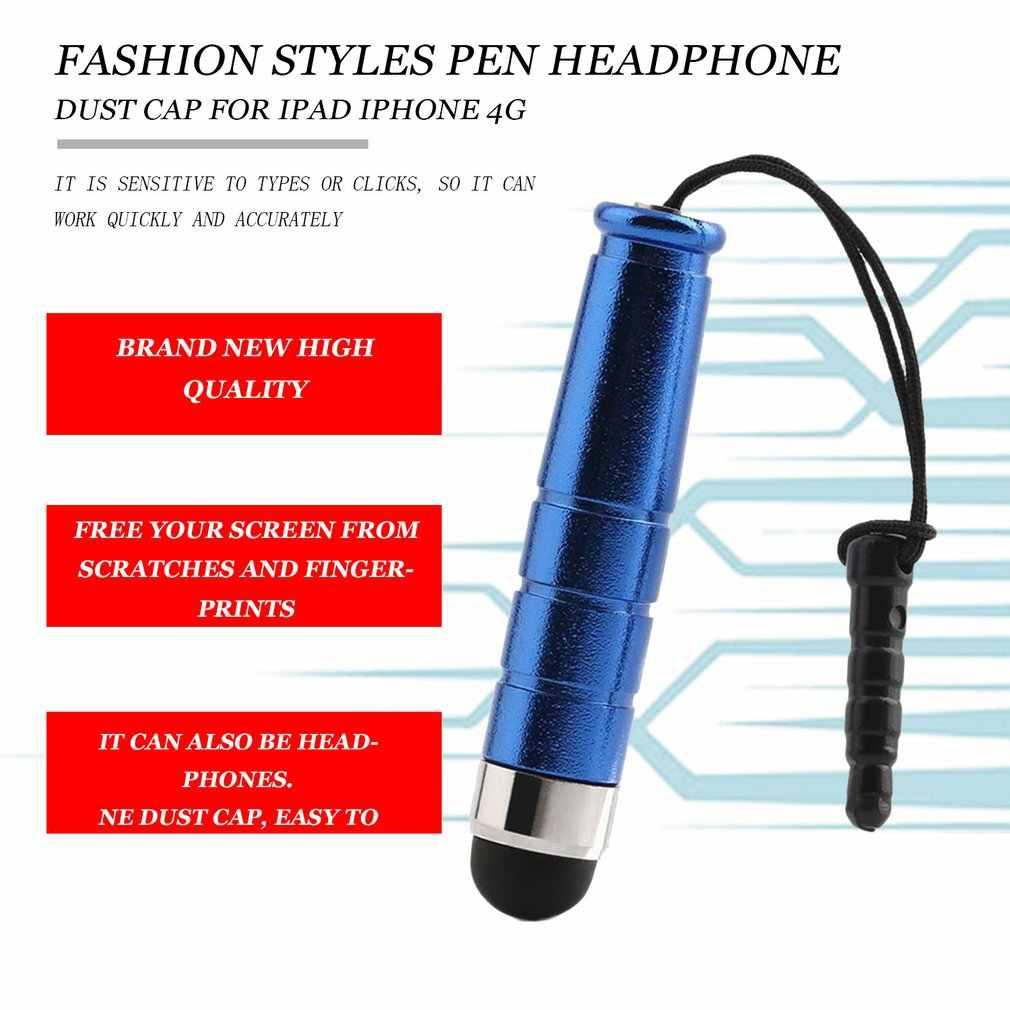 قلم ستايلس لجميع بالسعة قلم شاشة اللمس لباد آيفون جميع الهواتف المحمولة اللوحي الأسود