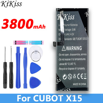3800mAh for CUBOT X15 Battery New Replacement Backup Battery For CUBOT X15 Cell Phone
