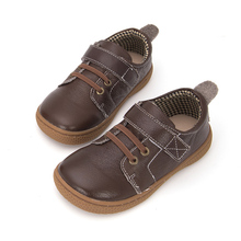 Pekny bosa brand children boy shoes Soft Cow Leather