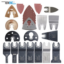 Newone 66 Pack Wood Metal Oscillating Multitool Quick Release Saw Blades Fit for Fein Black & Decker Bosch Craftsman Dewalt(China)