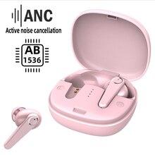 2020 yeni ANC gürültü iptal kablosuz Bluetooth kulaklık G07 TWS HD çağrı kulakiçi IPX7 su geçirmez spor kulaklık mikrofon ile