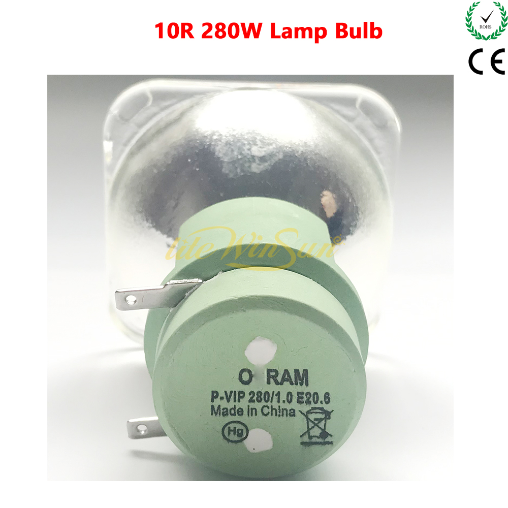 OEM ORAM VIP 280W 10R Lamp Bulb Lamp Source For Beam 280W Moving Head Light 10R