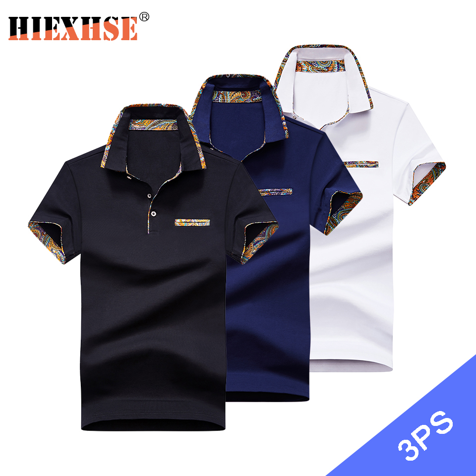 High Quality Solid color 3D Embroidery Polo Shirt Casual Polo Shirts men's Short sleeve polo shirt 2020 New Arrival polosshirt 1