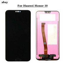 100% testato Da 5.8 Pollici A CRISTALLI LIQUIDI Per Huawei Honor 10 COL L29 Display LCD + Touch Screen Sostituzione del Gruppo Digitalizzatore honor 10 parti