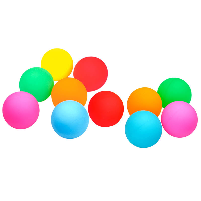 10Pcs/Set Anti Stress Toy Ball Mixed Bouncing Ball Child Elastic Rubber Kids Outdoor Bath Bouncy Toys For Children Cool Colorful