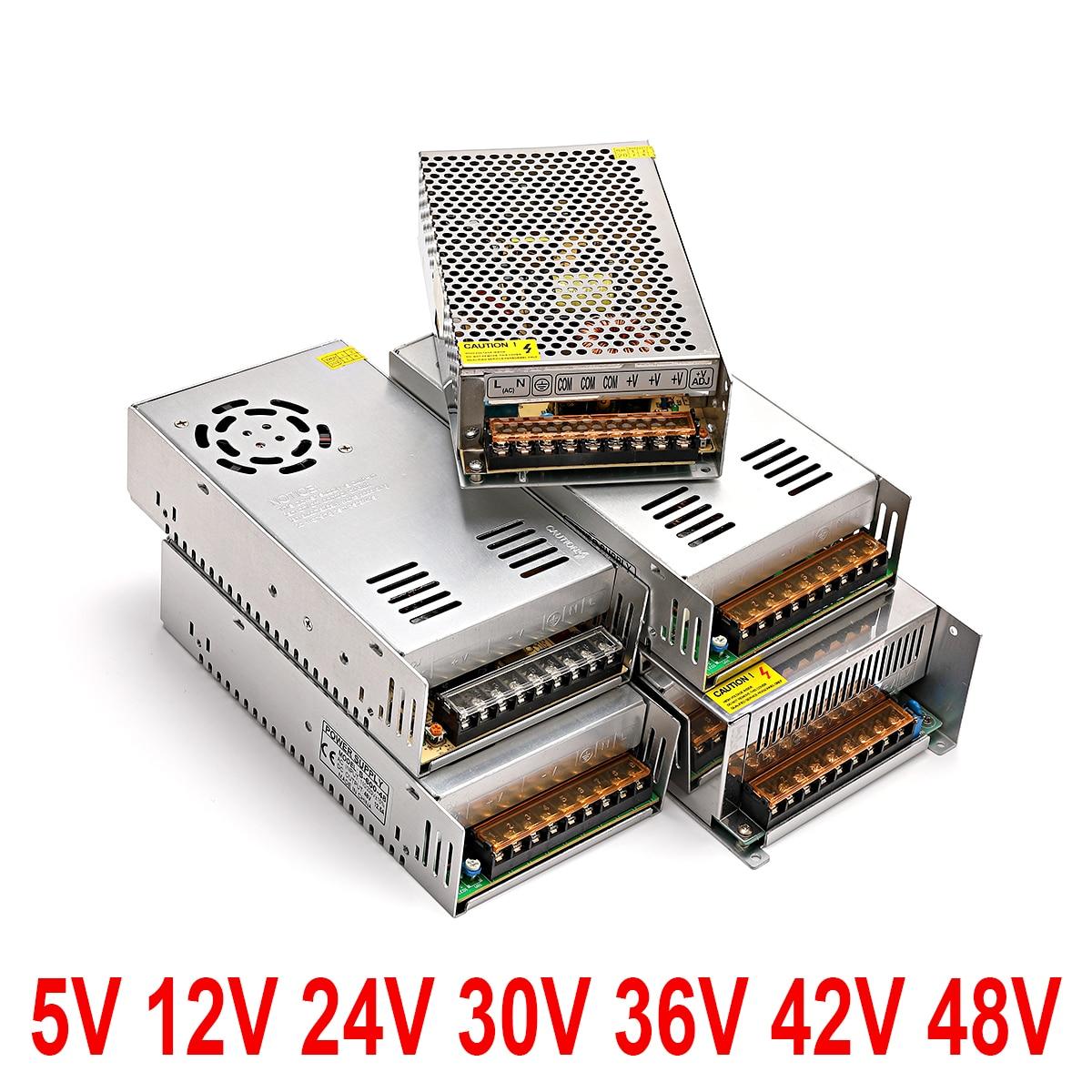 Switching power supply12V voltage 220Vto 2VAC-DC power supply 512 24V 36V AC-DC 220V to 5V 12V 24 V 36V 1A 5A 20A 30A light SUSW