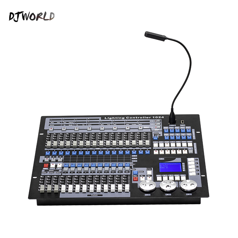 DJworld DMX Console 1024 Controller For Stage Lighting DMX 512 DJ Controller Equipment  International Standard Moving Head Light