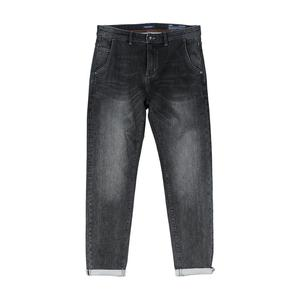 Image 5 - SIMWOOD 2020 spring winter new washed black jeans men little elastic denim trousers plus size brand clothing SI980581