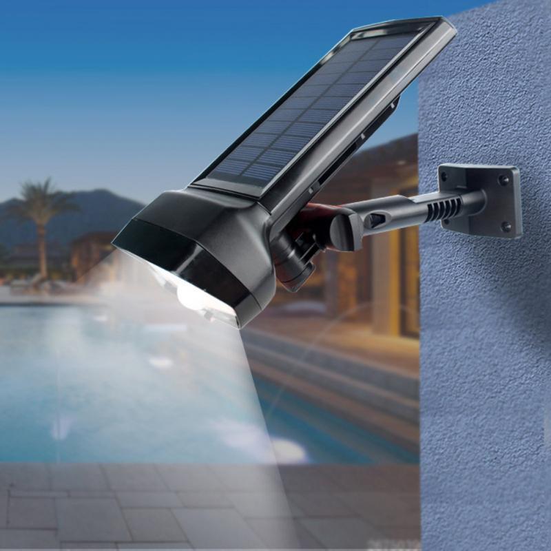 16 LED Solar Light PIR Sensor Solar Sports Light Waterproof Solar Wall Light Outdoor Garden Decoration Spotlight