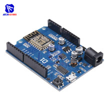 diymore WeMos D1 WiFi UNO R3 Development Board Based ESP8266 ESP 12E ESP 12 Wireless WIFI Module for Arduino IDE