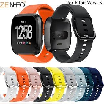 Replacement Band For Original Fitbit Versa/Versa 2 Soft Silicone  sport Wrist Accessories Watch Strap Versa