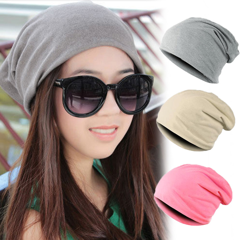 Simple Trendy New Breathable Cool Candy Color Solid Pile Headgear Knit Hat High Street Hip-Hop Style Hat For Fashionable People