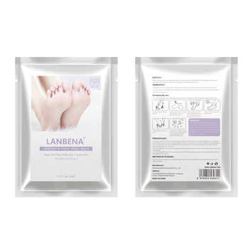 LANBENA Exfoliating Foot Mask Pedicure Socks Exfoliation for Feet Mask Remove Dead Skin Heels Foot Peeling Mask for Legs efero