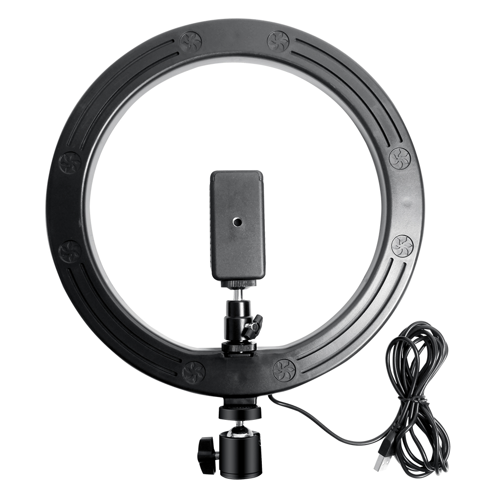 Hc42ba54f19a64d38b42370d46780b261t 10 Inch Rgb Video Light 16Colors Rgb Ring Lamp For Phone with Remote Camera Studio Large Light Led USB Ring 26cm for Youtuber