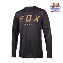 T-Shirt pour enfants, maillot de course, vtt, AM RF, vélo, descente, Hpit Fox, Motocross, vtt, DH MX Ropa D Boys, 2020