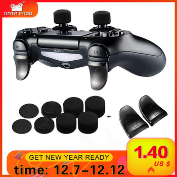 DATA FROG 2ks / set L2 R2 buttons extension trigger for PS4 controller extend button gamepad game accessories