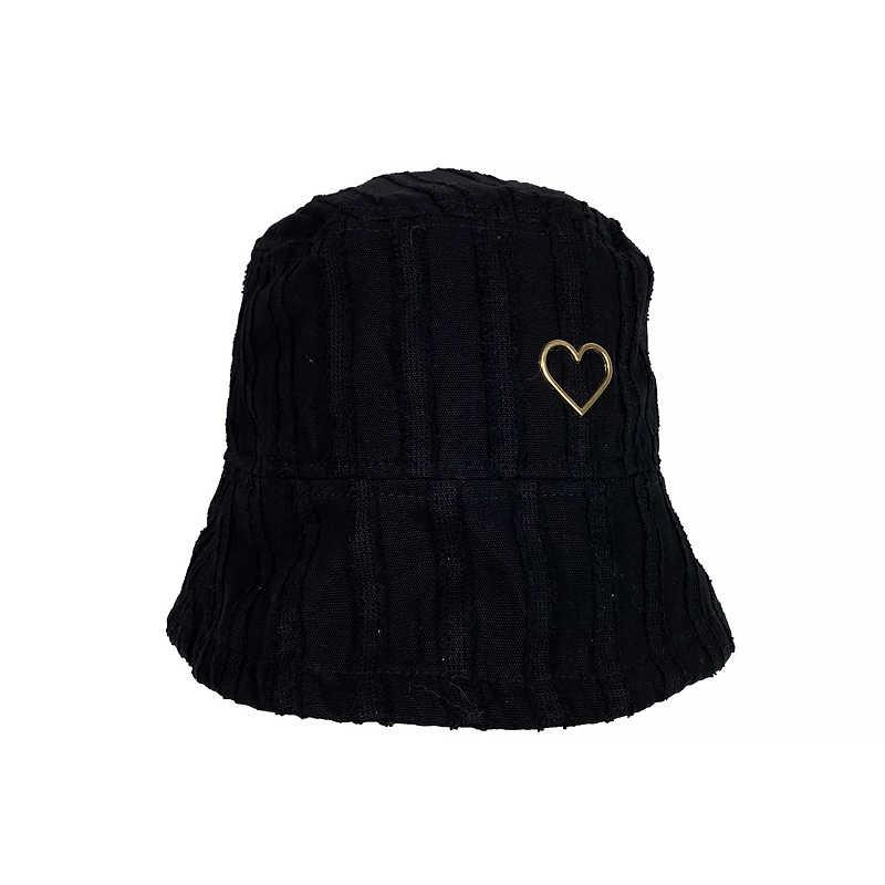 Панама в форме сердца для женщин, летняя Солнцезащитная шляпа в стиле рыбака, головной убор для бассейна, закрывает лицо