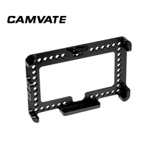 "CAMVATE On camera Monitor Cage Bracket For FeelWorld F6 Plus 5.5"" Display  C2497"