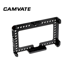 """Image 1 - CAMVATE On camera Monitor Cage Bracket For FeelWorld F6 Plus 5.5"""" Display  C2497"""