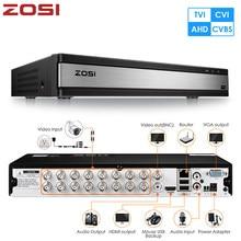 ZOSI – enregistreur vidéo et Audio 16CH 4 en 1, TVI AHD CVBS CVI 1080P, carte mère DVR pour système de vidéosurveillance, Kit DVR