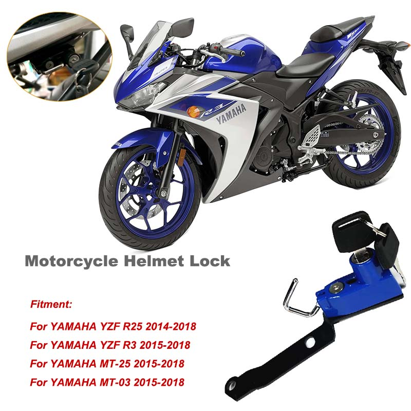 For YAMAHA YZF R25//YZF R3//MT-25//MT-03 15-18 Silencer//Exhaust Protector Can Cover