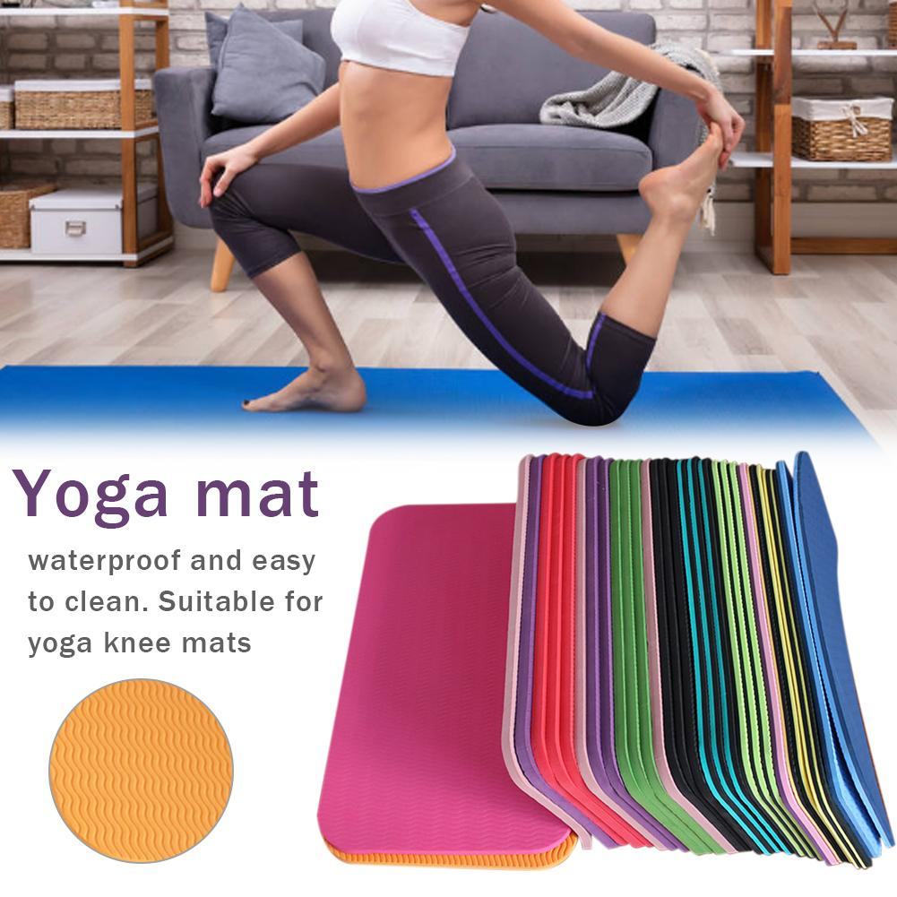 1pc Yoga Mat Knee Pad Non-slip Anti Slip Moisture-resistant Yoga Mats For Plank Pilates Exercise Sports Gym Fitness Workout