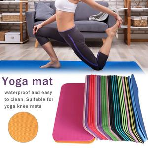 1pc Yoga Mat Knee Pad Non-slip Anti Slip Moisture-resistant Yoga Mats For Plank Pilates Exercise Sports Gym Fitness Workout(China)