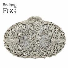 بوتيك دي FGG اليعسوب نمط المرأة موضة كريستال مساء حقائب اليد والمحافظ الزفاف الماس مخلب حفل زفاف المحفظة